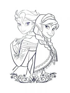 Fairy Princesses Coloring Pages