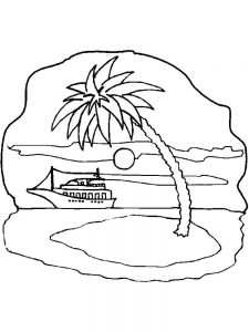 Fantasy Island Coloring Pages