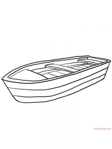 Ferry Boat Coloring Pages