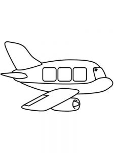Fire Plane Coloring Pages