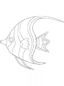 Fish Coloring Pages For Toddlers