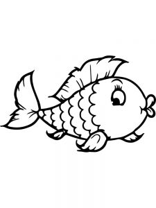 Fish Coloring Pages Images