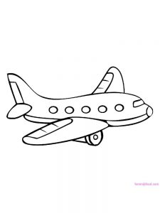 Flight Coloring Pages 1