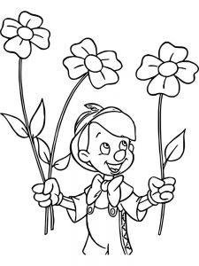 Flower Coloring Pages For Adults To Print