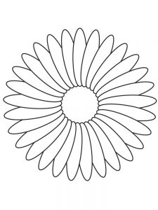 Flower Coloring Pages Free Printable