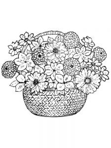 Flower Coloring Pages Images