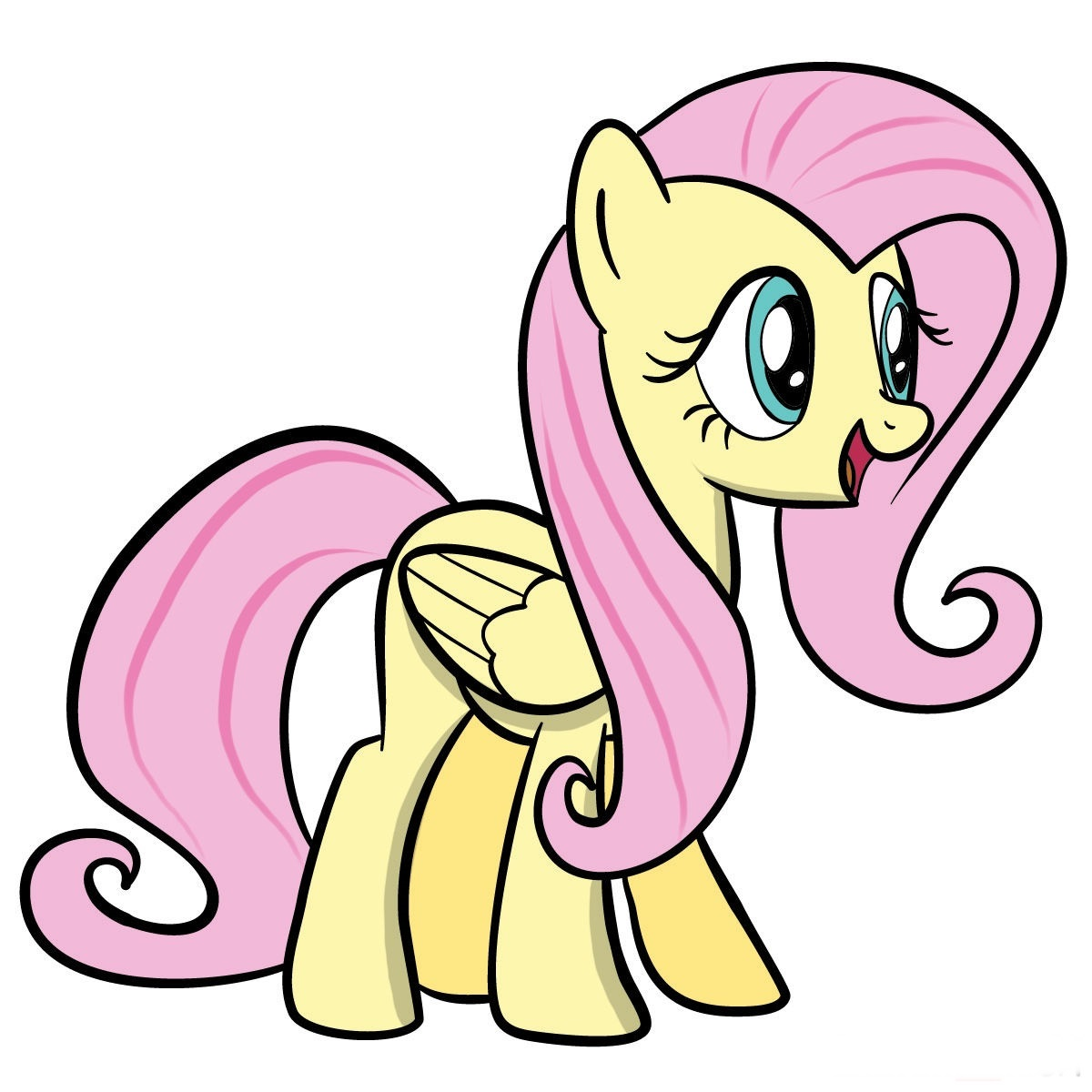 Fluttershy Coloring