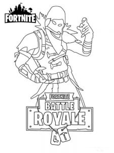 Fortnite Coloring Pages Free