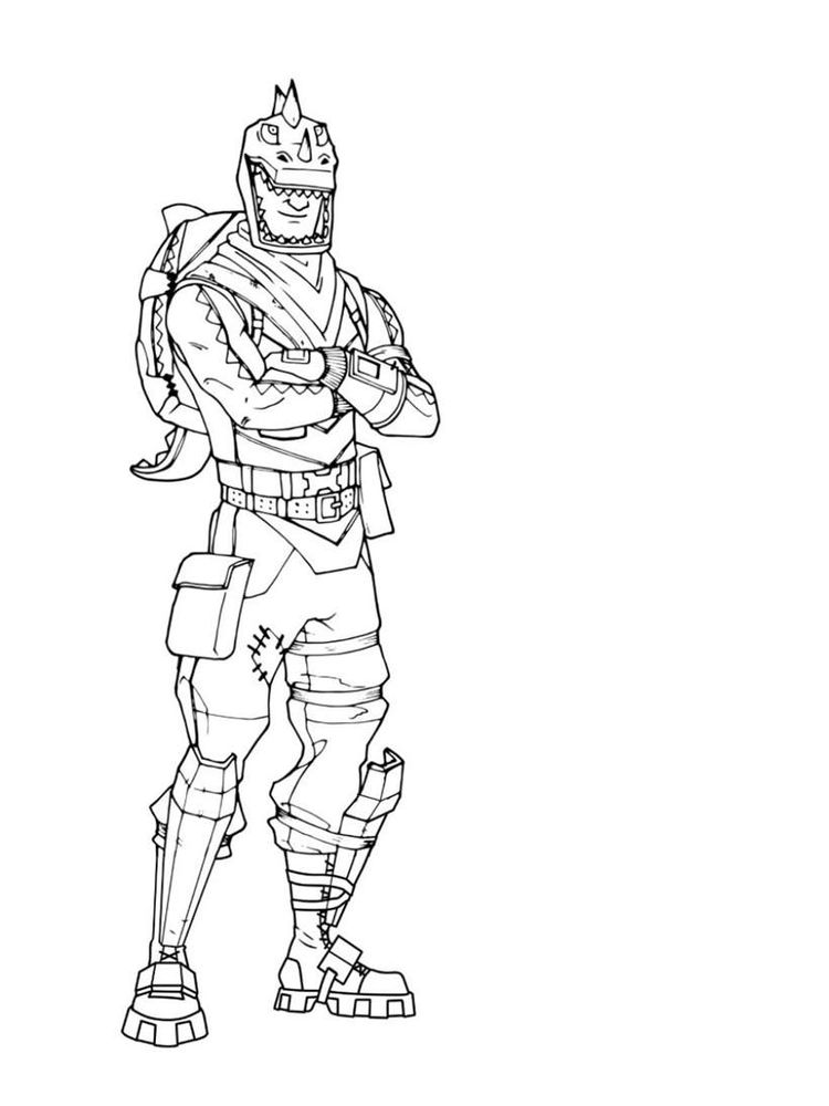 Fortnite Coloring Pages Season 7