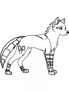 Fox Coloring Pages Colored