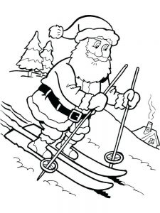 Free Christmas Coloring Pages By Numbers free