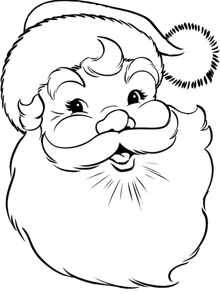 Free Christmas Coloring Pages For Kindergarten Print