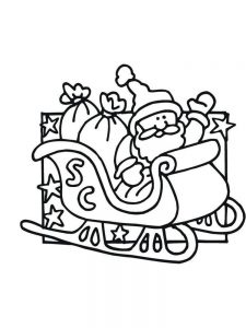Free Christmas Coloring Pages For Preschoolers Pdf
