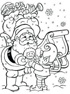 Free Christmas Coloring Pages Online