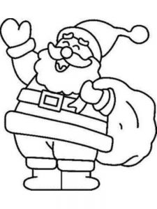Free Christmas Coloring Pages Pdf Image