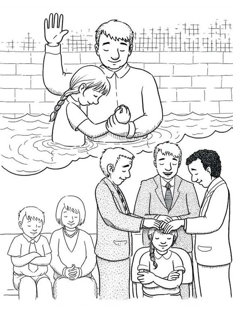 Free Coloring Pages About Prayer