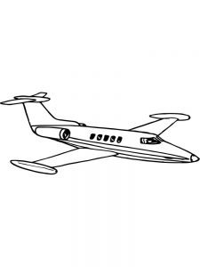 Free Coloring Pages Of Airplane