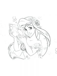 Free Coloring Pages Of Barbie Princesses