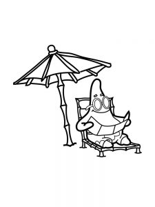 Free Coloring Pages Patrick Star