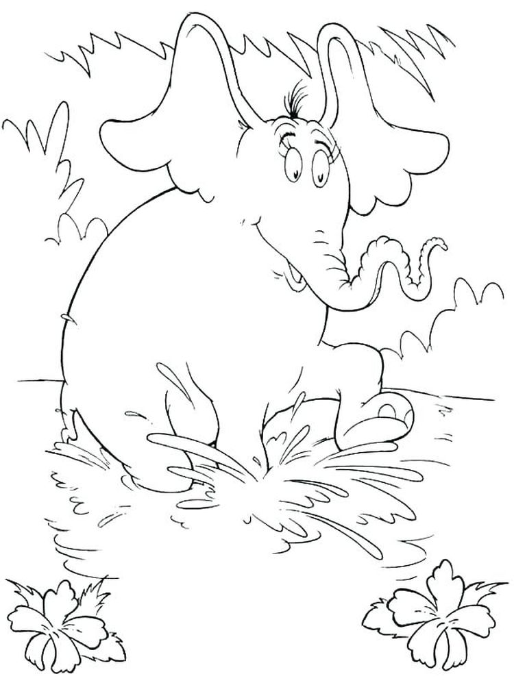 Free Printable Horton Hears A Who Coloring Pages
