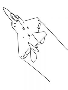 Free Printable Jet Airplane Coloring Pages