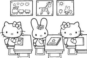 Free Printable Welcome Back To School Coloring Sheets