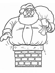 Free Santa Coloring Pages To Print