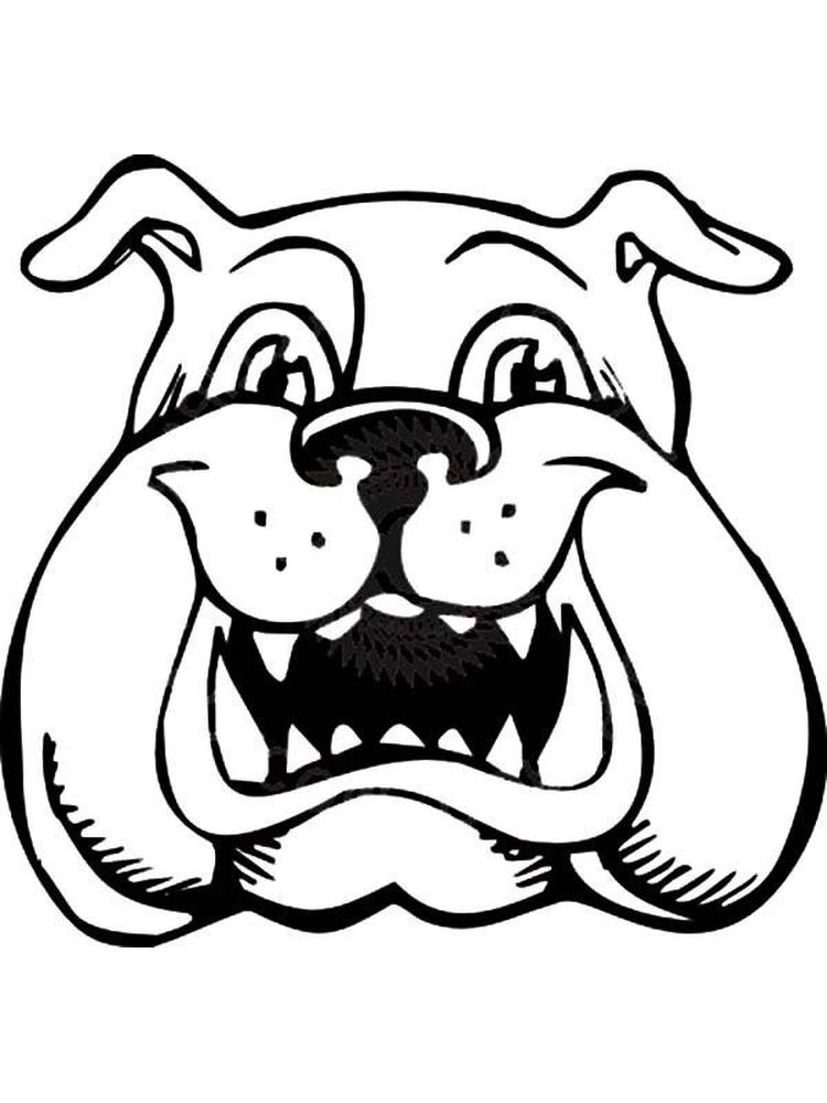French Bulldog Coloring Pages Free