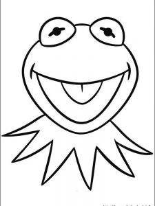 Frog Colouring Pages Print