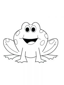 Frog Life Cycle Coloring Pages For Preschoolers