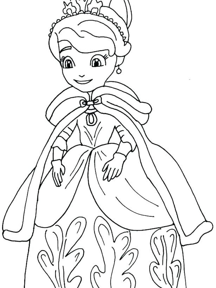 Fun Coloring Pages Princesses