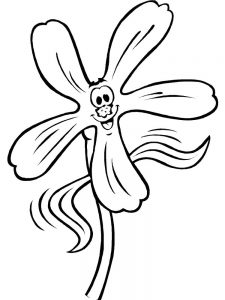Garden Insects Coloring Page