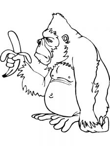 Goodnight Gorilla Coloring Pages