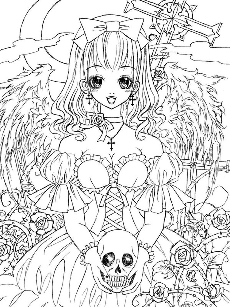 Gothic Architecture Coloring Pages
