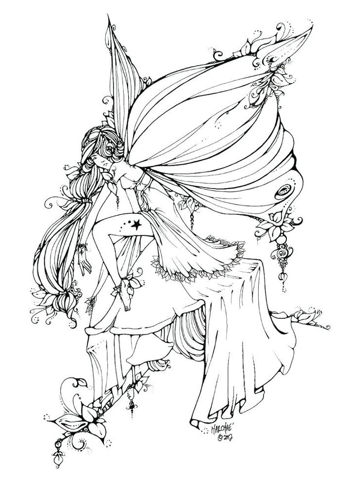 Gothic Christmas Coloring Pages