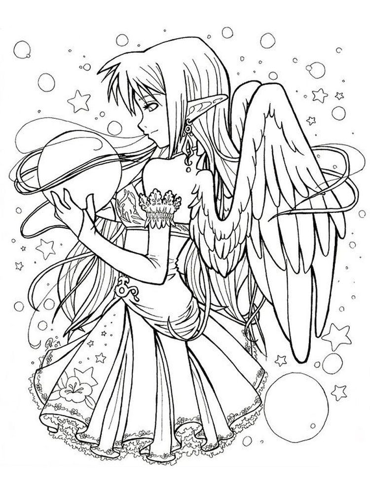 Gothic Coloring Pages Printable
