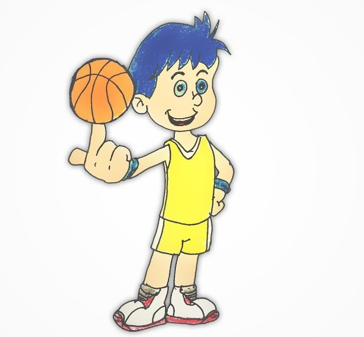 Great Basketball Coloring