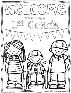 Great Welcome Back To School Coloring Pages Printable