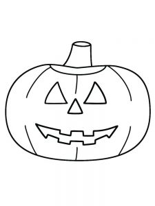 Halloween Pumpkin Coloring Pages For Adults