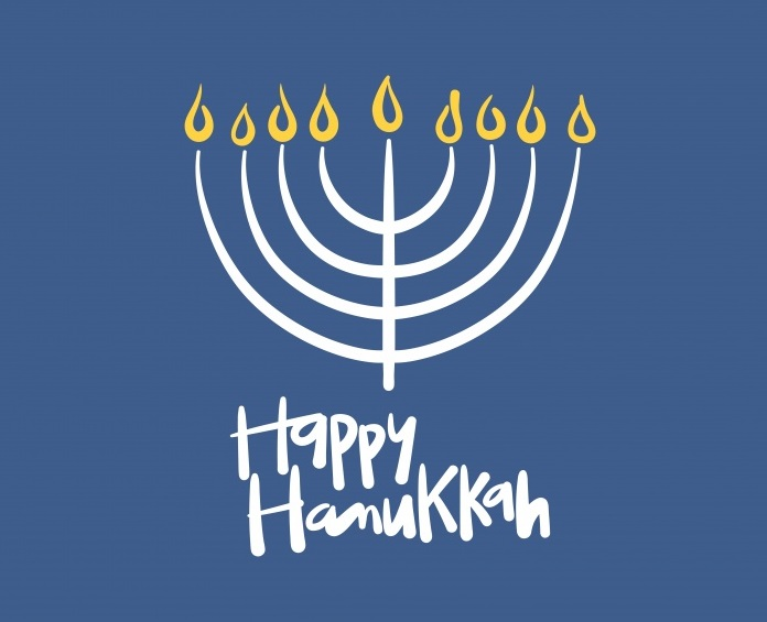 Hanukkah Symbols Coloring Pages