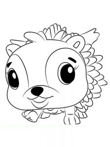Hatchimals Coloring Page Printable Free