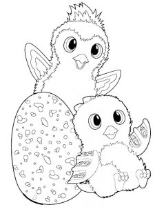 Hatchimals Coloring Pages Pdf