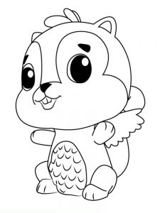 Hatchimals Mermal Coloring Pages
