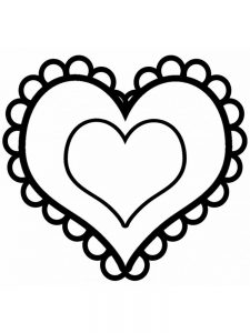 Heart Coloring Pages For Adults Pdf