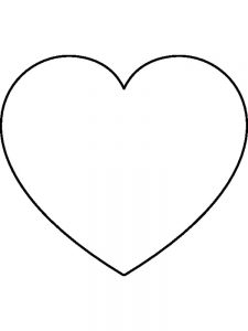 Heart Coloring Pages Free