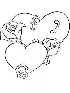 Heart Coloring Pages Pinterest