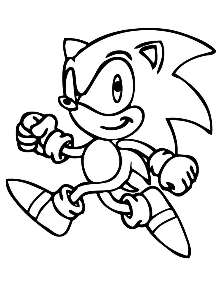 Hedgehog Colouring Pages