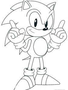 Hedgie The Hedgehog Coloring Pages