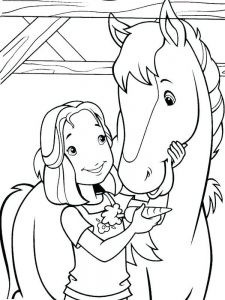 Horse Coloring Pages Breyer
