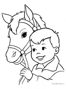 Horse Coloring Pages Supercoloring